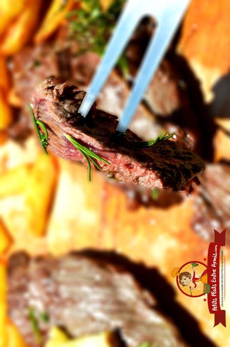 Effeuillé boeuf grillé plancha